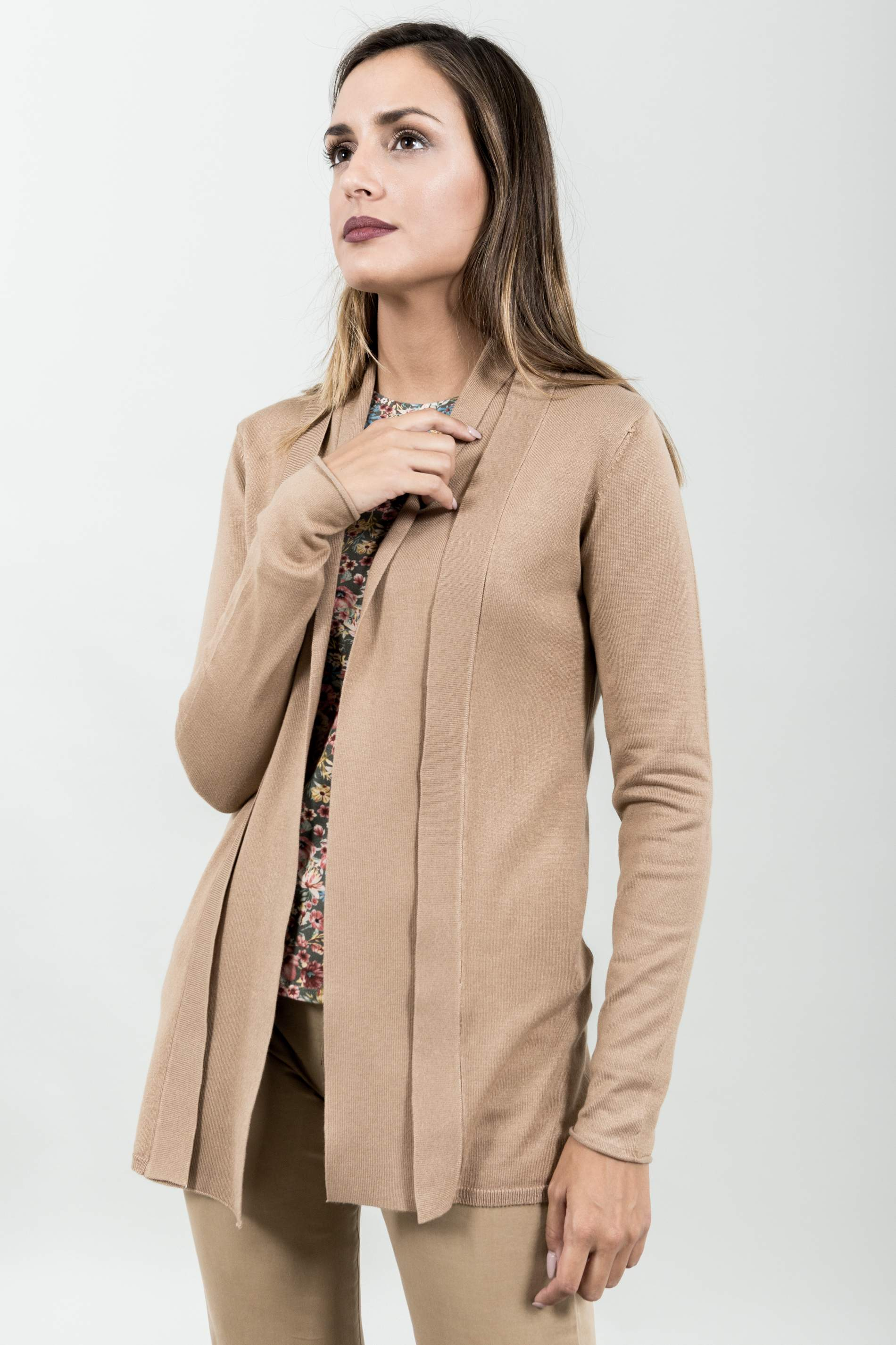 CARDIGAN DOBLE SOLAPA