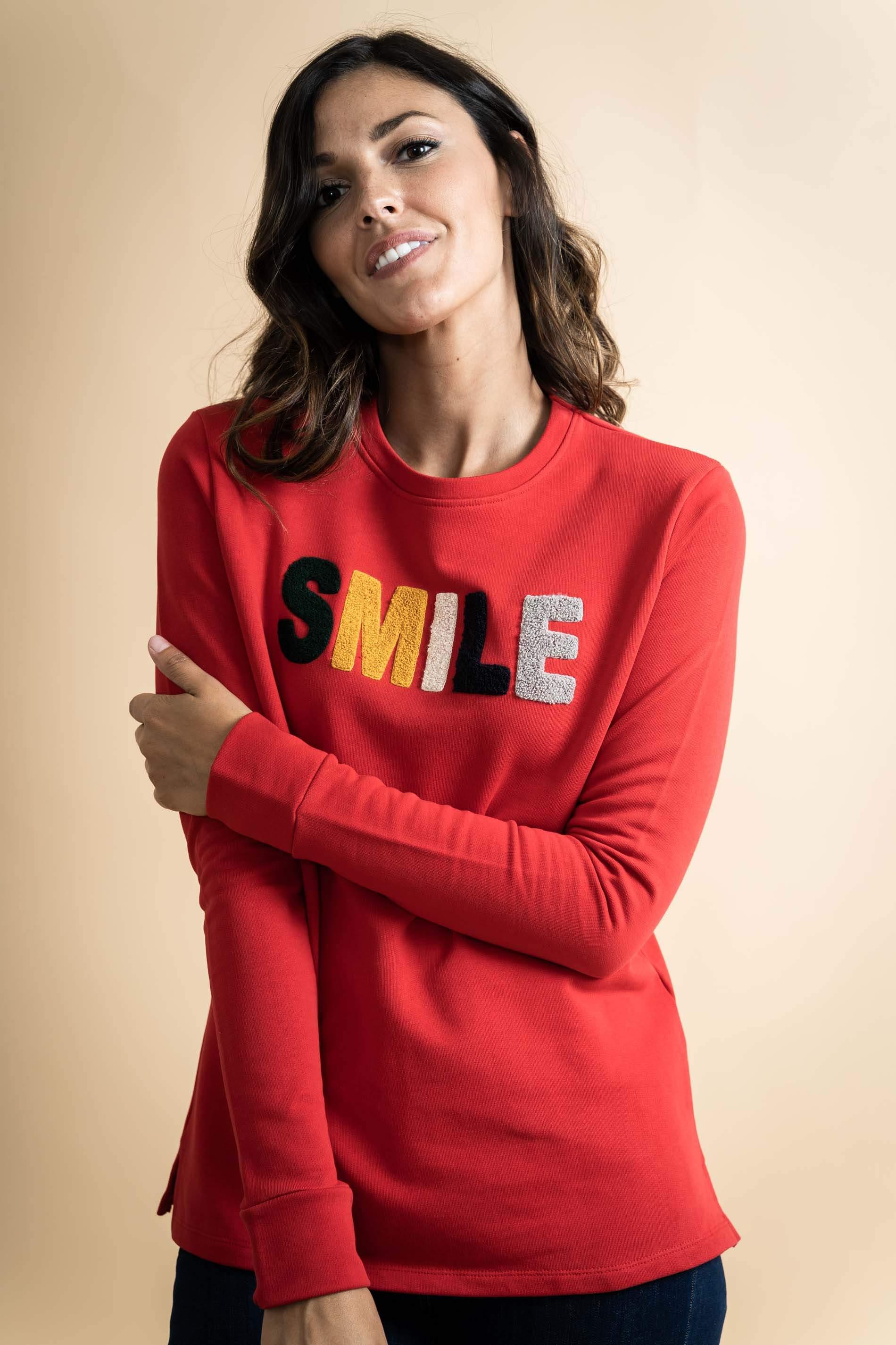 SUDADERA SMILE