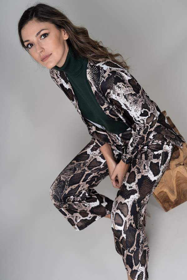 PANTALON ANCHO ANIMAL PRINT