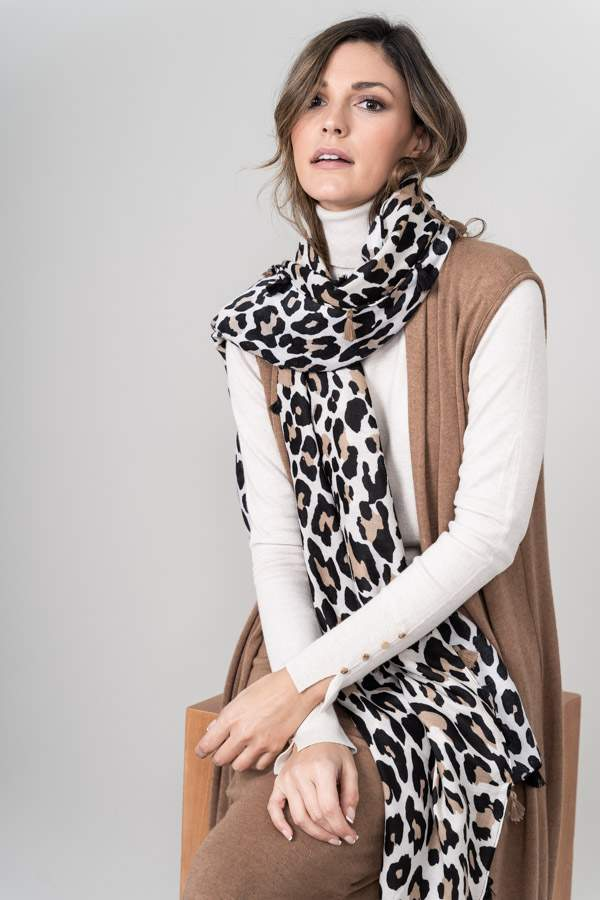 FOULARD ANIMAL FLEQUITOS